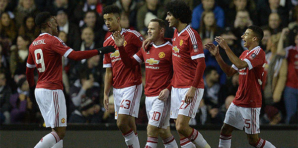 Manchester United Go into the FA Cup Fifth Round