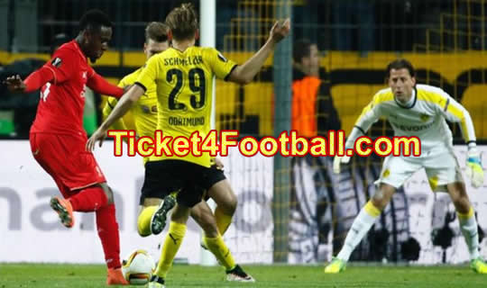 Liverpool Play a Draw with Dortmund in Germany1