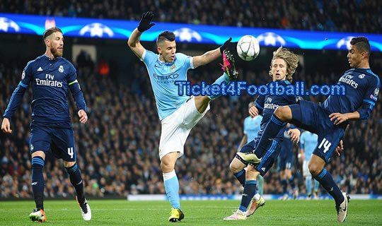 Man City Play a Goalless Draw Against Real Madrid1
