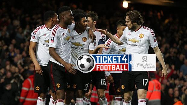Manchester United Reach FA Cup Semi Finals