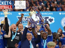 Leicester City Lift First Premier League Trophy