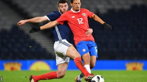 Defender Grant Hanley to Miss Scotland's final two Euro Cup 2020 qualifiers