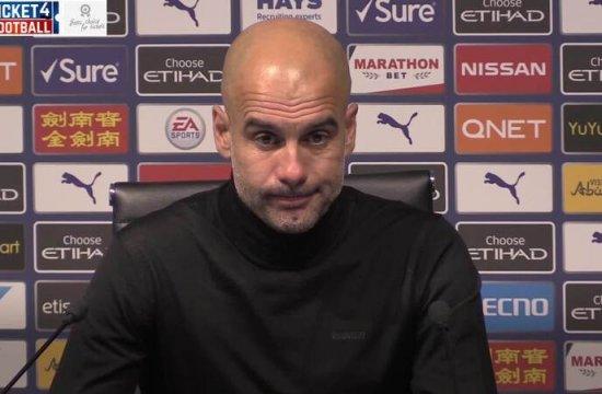 City boss Pep Guardiola