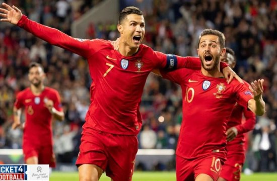 Portugal and Ukraine Close in on Euro Cup 2020 with Home Wins