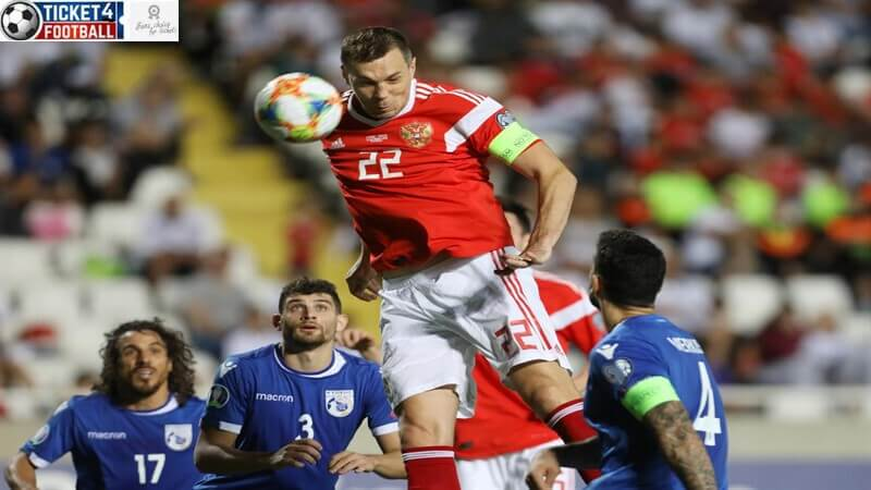 Euro 2020 – Russia strikes Cyprus 5-0 to qualify for Euro Cup 2020