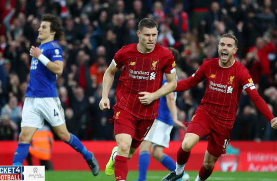 Milner backs confident Liverpool for the Premier League glory