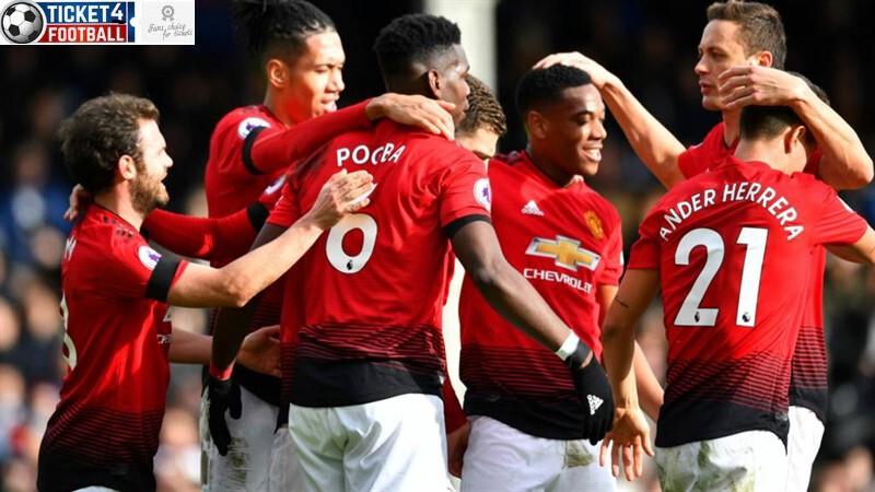 Premier League: Manchester United Team celebration