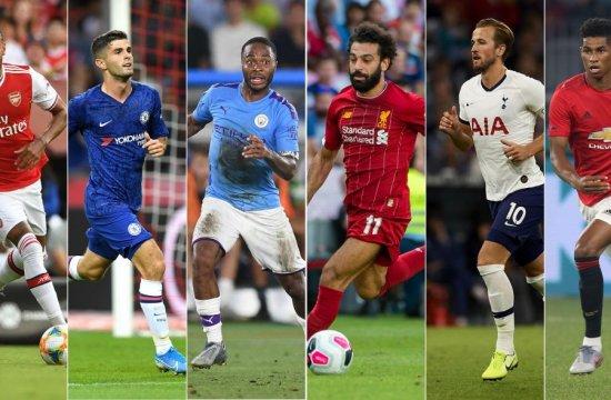 English Premier League 2019-20 team of the season so far