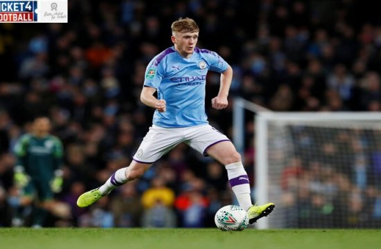 Manchester City's Tommy Doyle put in an excellent display on his debut