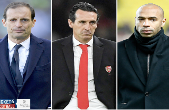 Pressure is starting to grow on Unai Emery