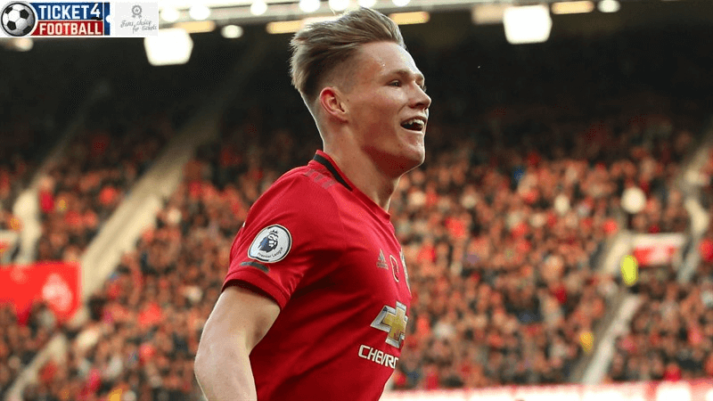 Premier League: Man Utd player McTominay in action, Book Man Utd Tickets to enjoy its stunning performances.