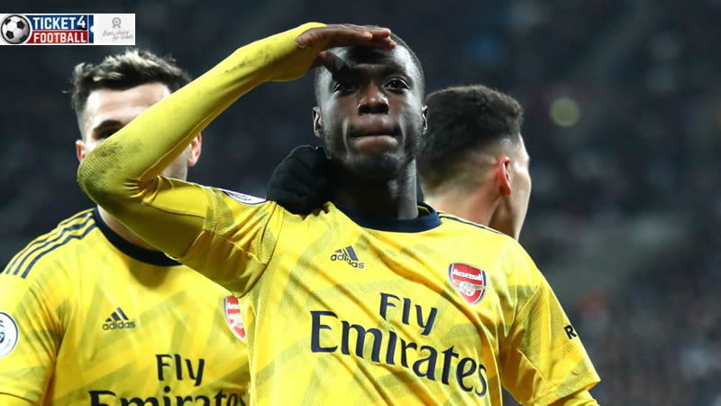 Nicolas Pepe is a professional footballer who plays as a winger for Premier League club Arsenal and the Ivory Coast national team. Purchase Arsenal Tickets to enjoy its stunning performances.