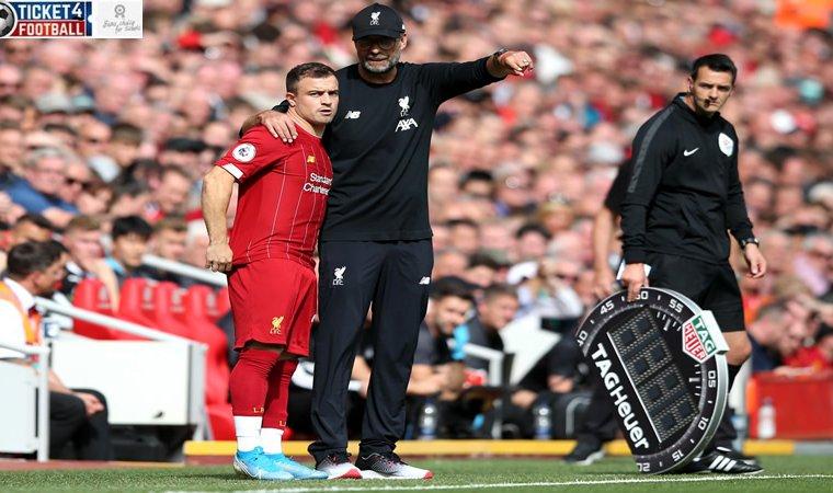 Premier League: Xherdan Shaqiri's message for Jurgen Klopp after scoring for Liverpool vs Everton