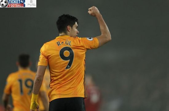 Chelsea FC Tottenham and Manchester United urged to sign Wolves striker Raul Jimenez