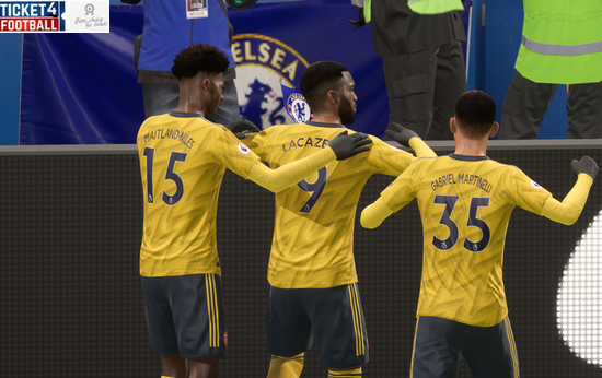 Chelsea vs Arsenal to get a score prediction for Premier League clash on FIFA 20