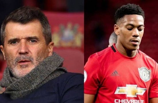 Premier League: Roy Keane says Anthony Martial not good enough for Man Utd