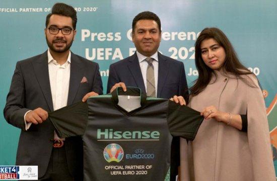 Euro cup 2020: Hisense unveils EURO 2020 Plan in Pakistan
