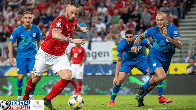 Austria beat North Macedonia to be eligible for Euro 2020