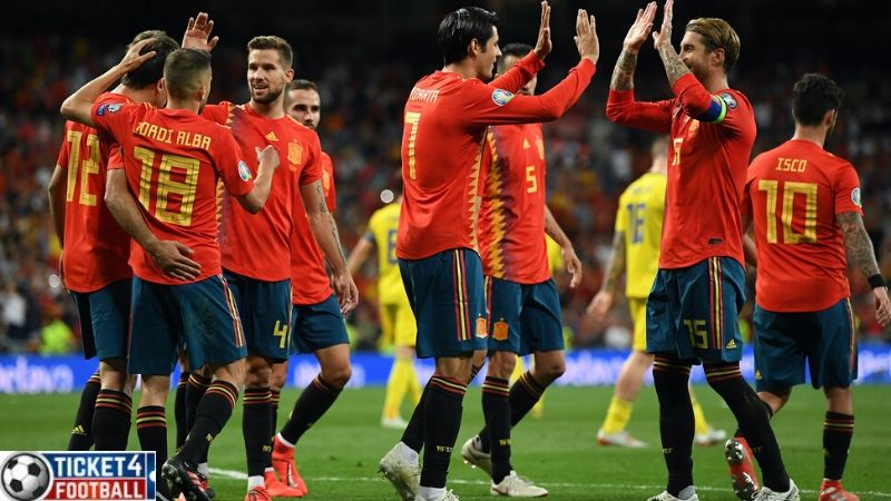 Spain will face Poland, Sweden, and playoff Winner B in group E