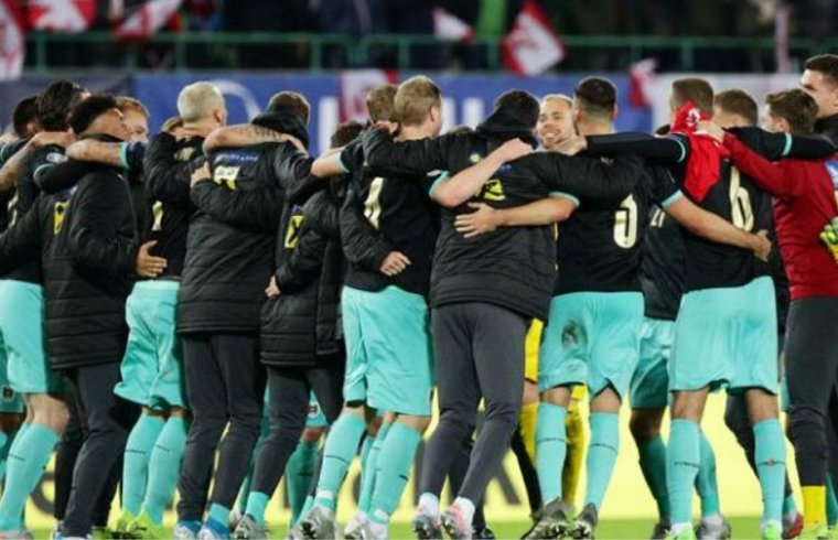 Austria will face Holland, Ukraine, and play of Winner D or A in group C