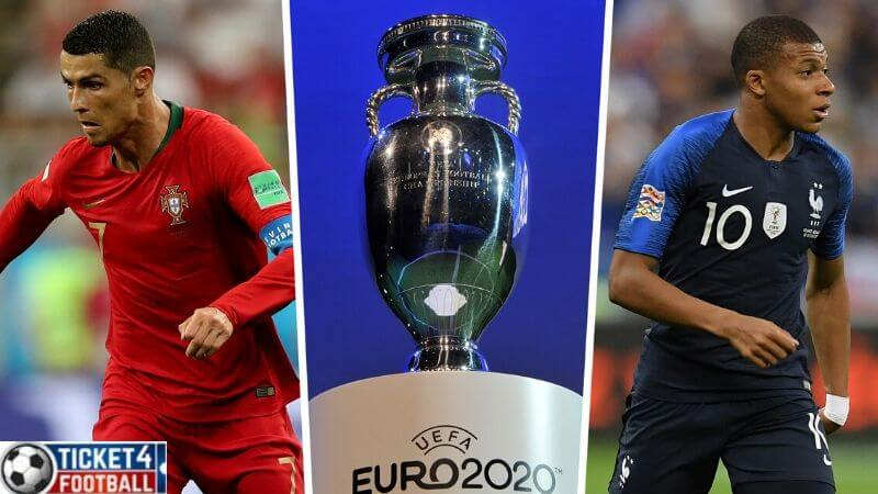 Portugal will face France and Germany in Euro Cup 2020