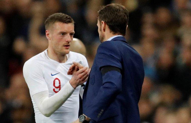 Leicester striker Jamie Vardy considers England Euro 2020 return