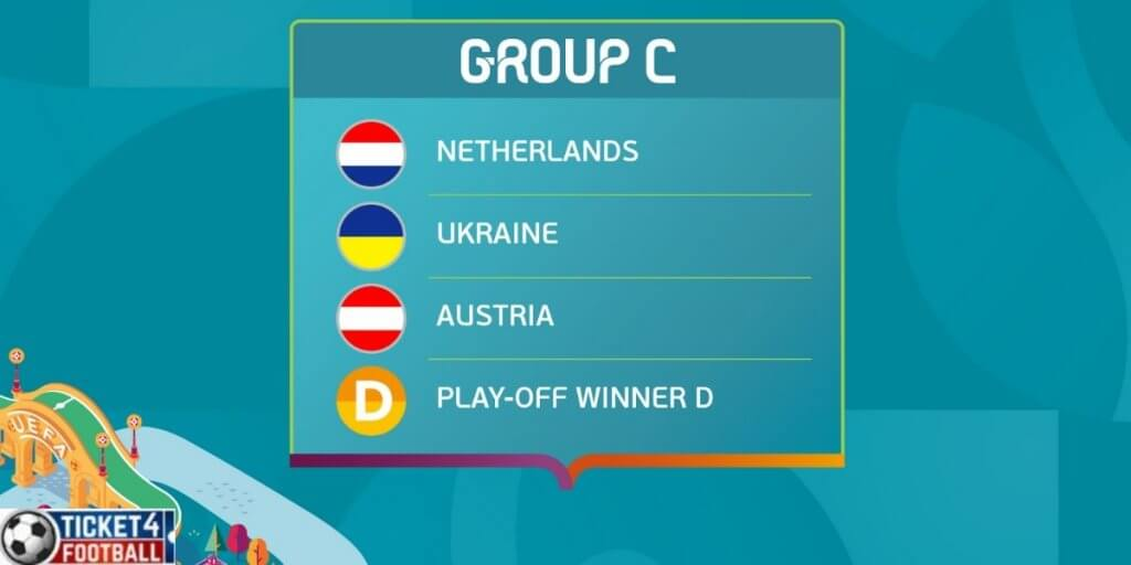What will happen in group C of Euro Cup 2020