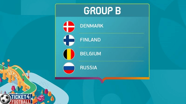 Euro Cup Group B will take place from 13 to 22 June 2020